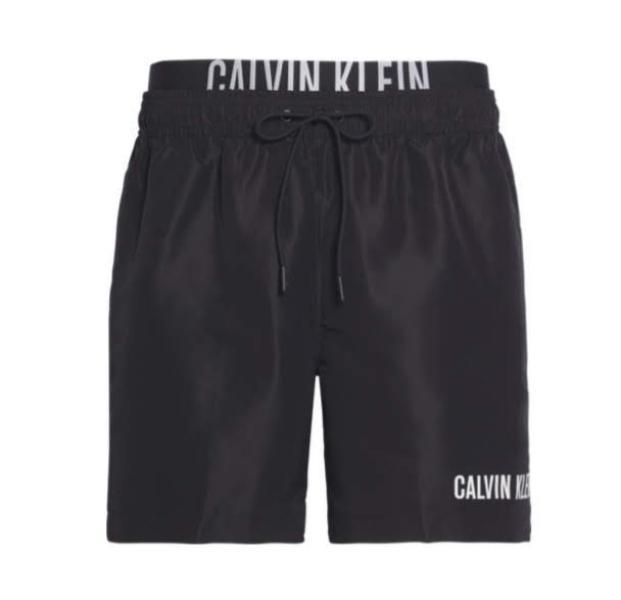 Calvin Klein Zwemshort met dubbele tailleband