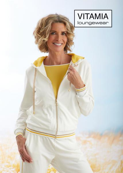 Vitamia Yellow Jogging: Gilet+broek