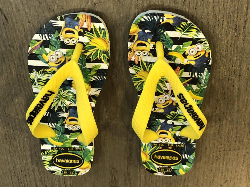 Havaianas Minions slippers