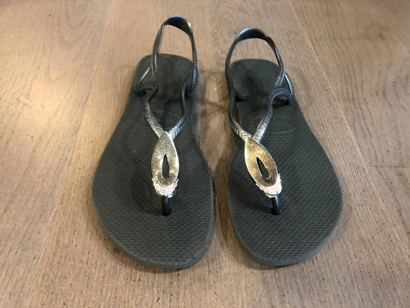 Havaianas Luna Sandaaltjes met steen