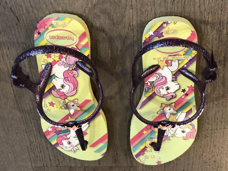 Havaianas Little Pony Slippers meisjes
