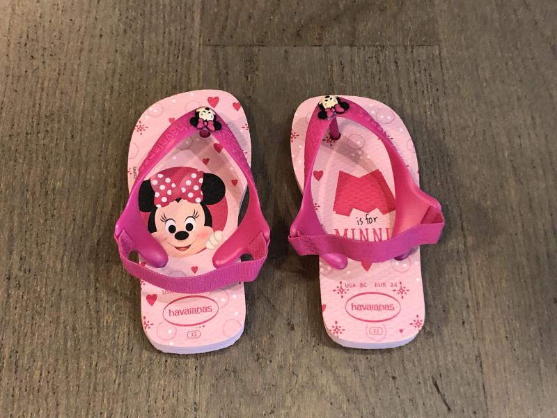 Havaianas Minnie Mouse Slippers meisjes