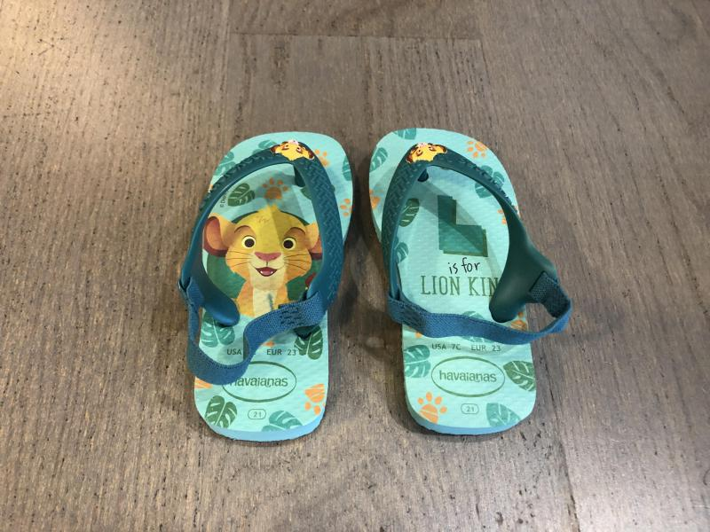 Havaianas Lion King Slippers