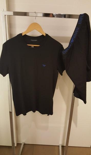 Armani Pyjama heren black