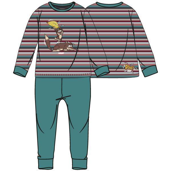 Woody Wolf Pyjama Baby jongen
