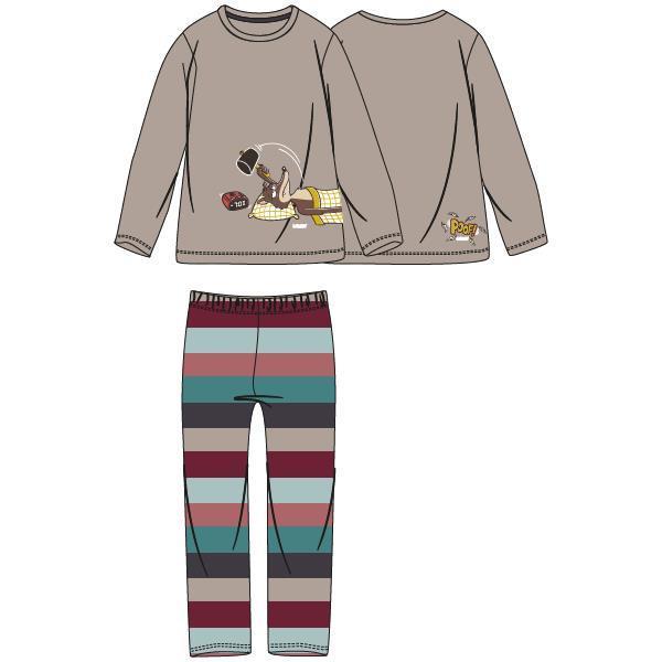 Woody Wolf Pyjama heren