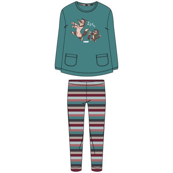 Woody Wolf Pyjama meisjes