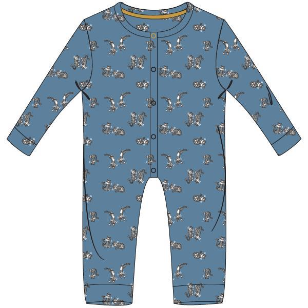 Woody Poes Pyjama Baby All over onesie