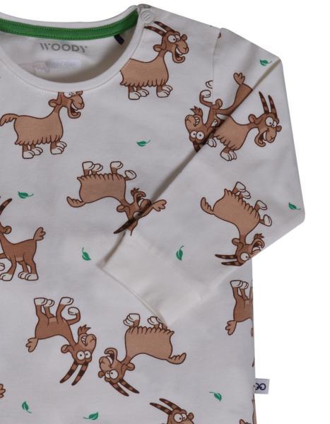Woody Geit Pyjama Baby jongen allover