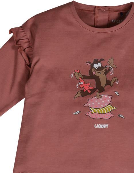 Woody Wolf Pyjama Baby Meisjes