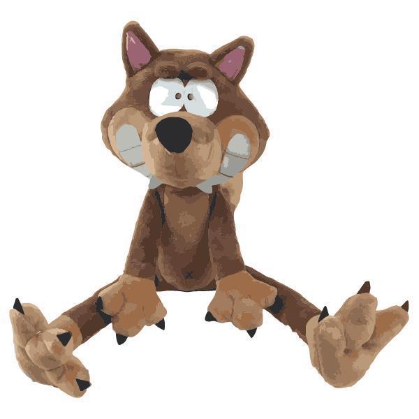 Woody Wolf Kleine knuffel 25cm