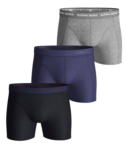 Bjorn Borg Seasonal Solids 3pack boxershort