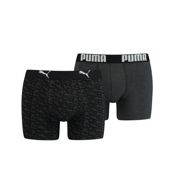 Puma Logo Boxershort heren Duopack