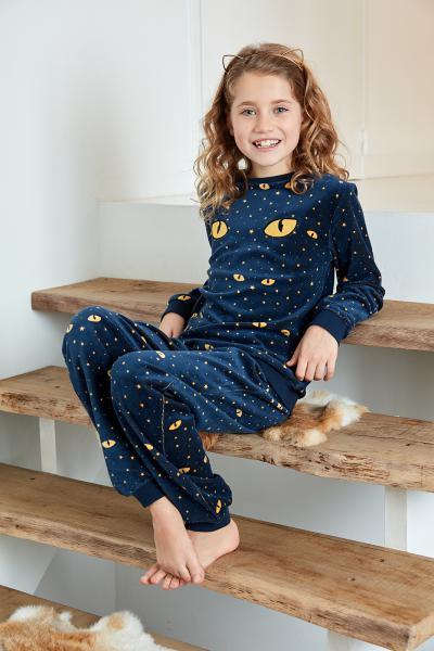 Eskimo Starry Eyes Meisjespyjama 2 tot 8 jaar