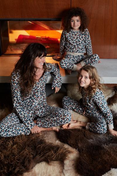 Eskimo Ronette Pyjama dames doorknoop