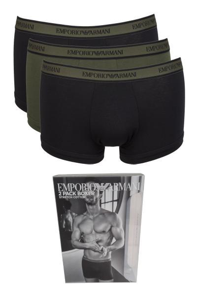 Armani Stretch Cotton 3 Pack Boxers