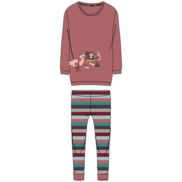 Woody Wolf Pyjama Dames