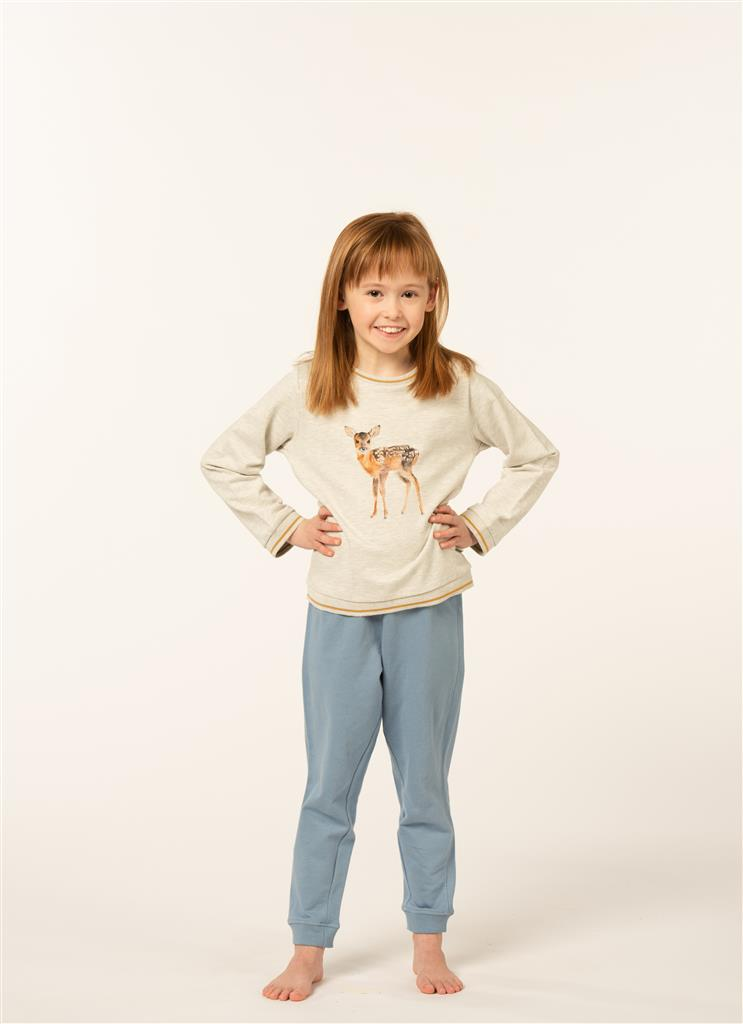 Eskimo Bambi Pyjama meisjes 2 tot 8 jaar