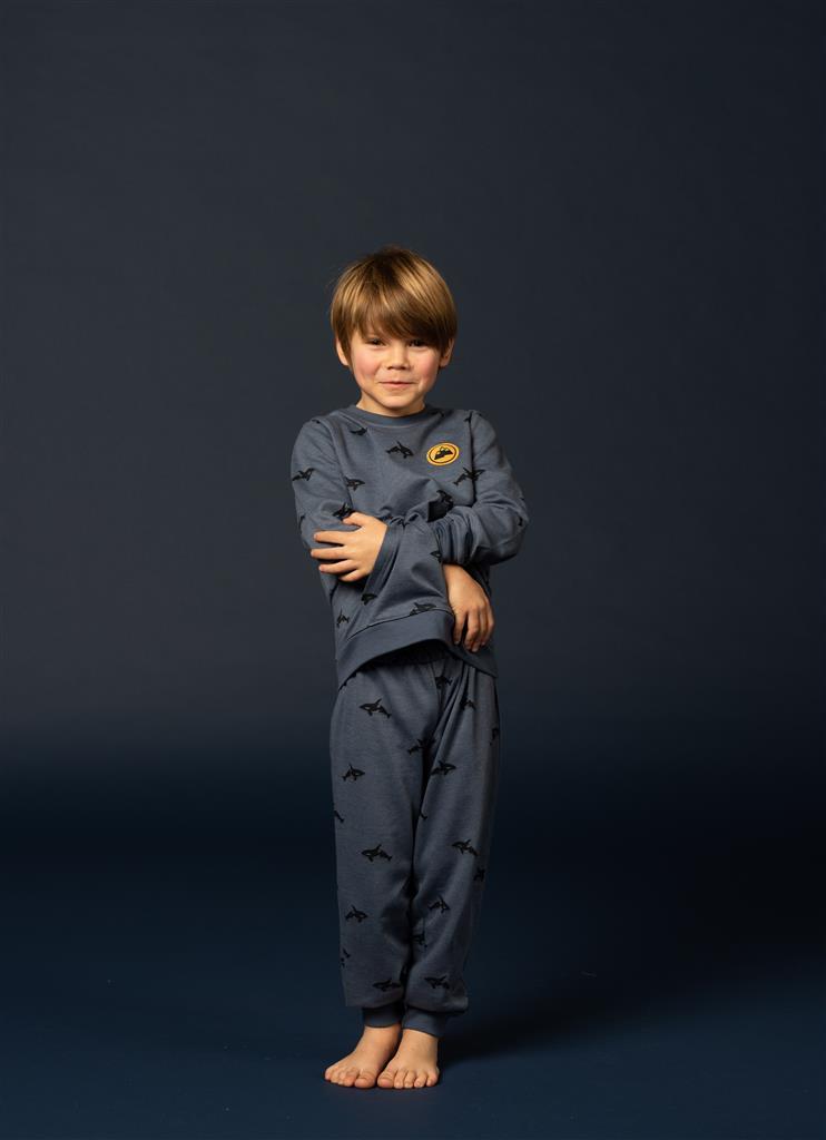 Eskimo Kolor Pyjama Jongens badstof