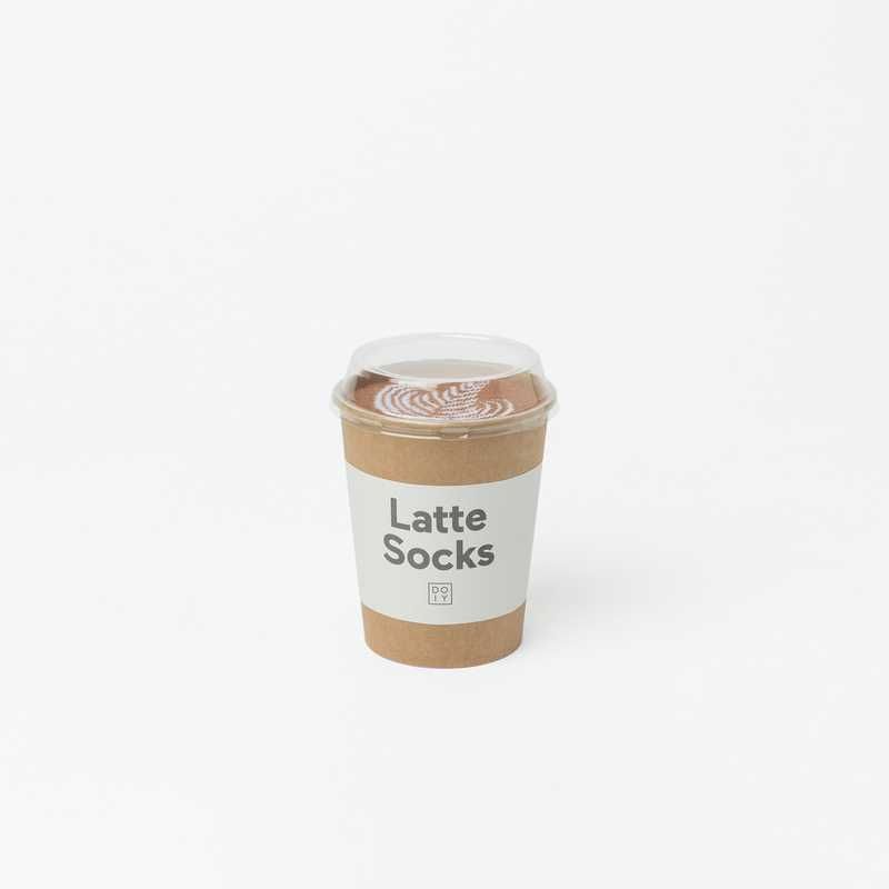 Doiy Latte Socks