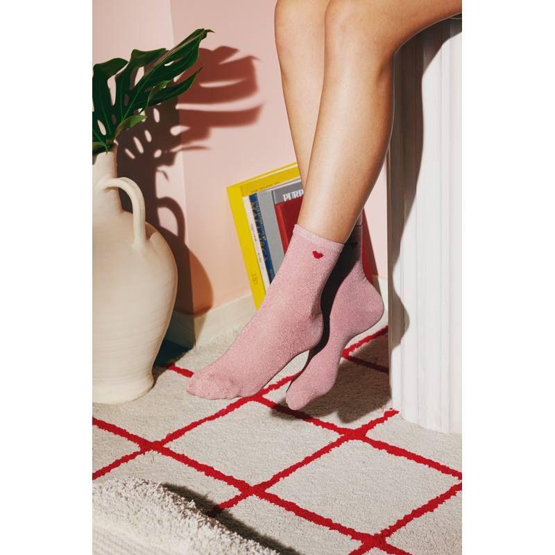 Doiy Heart Socks
