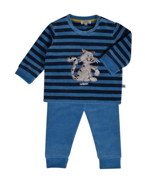 Woody Poes Pyjama BABY jongens fleece
