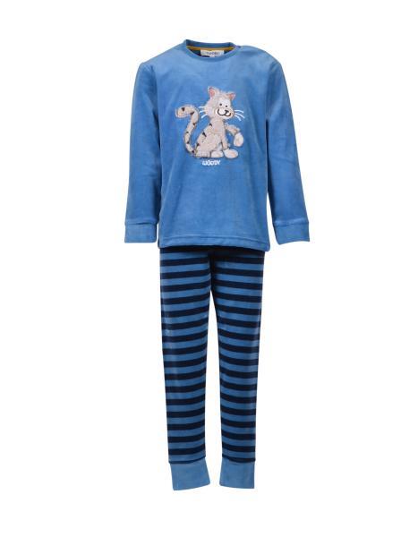 Woody Poes Pyjama jongens velours