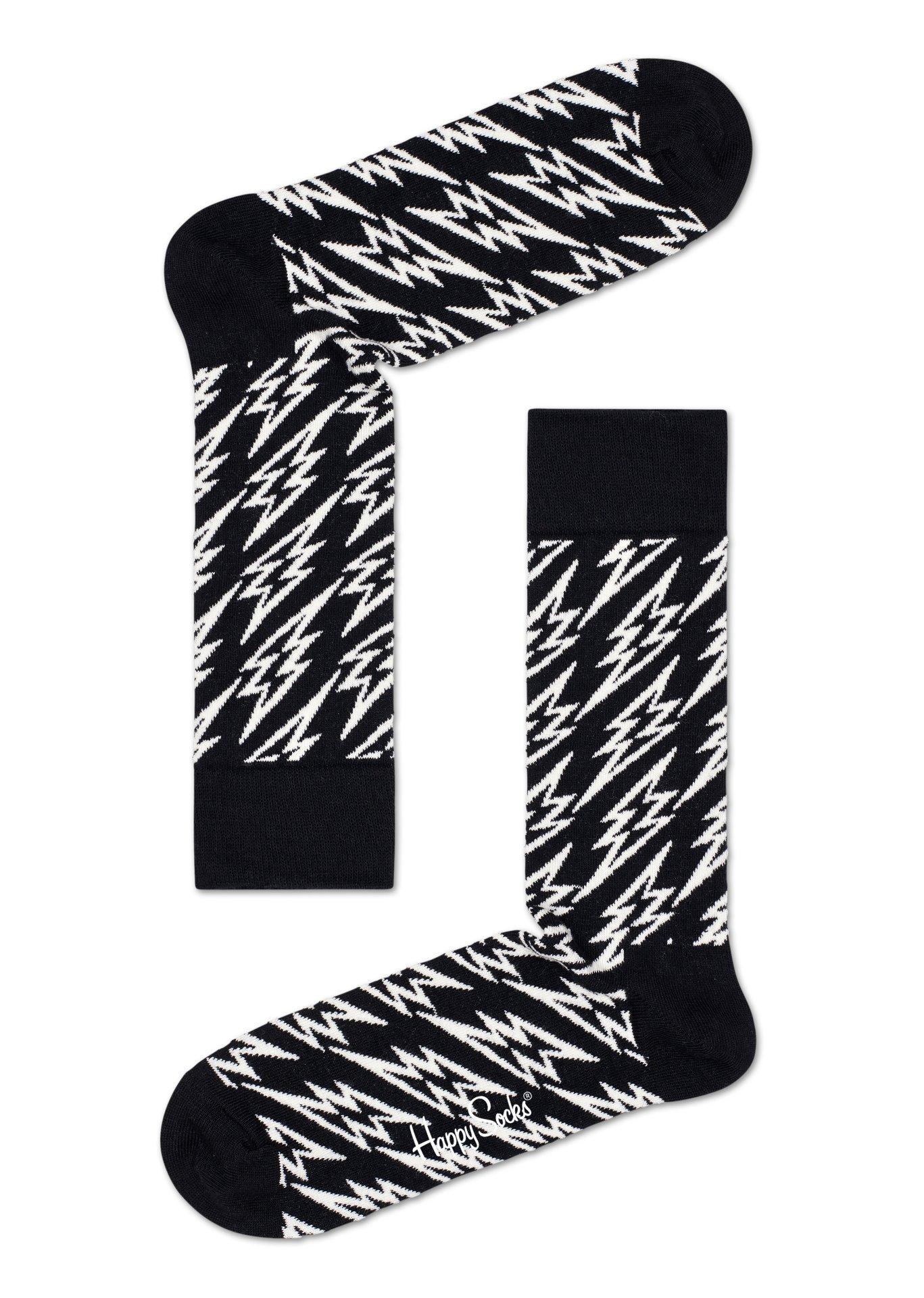 Happy Socks Flash Lightning 1 paar kousen 41-46