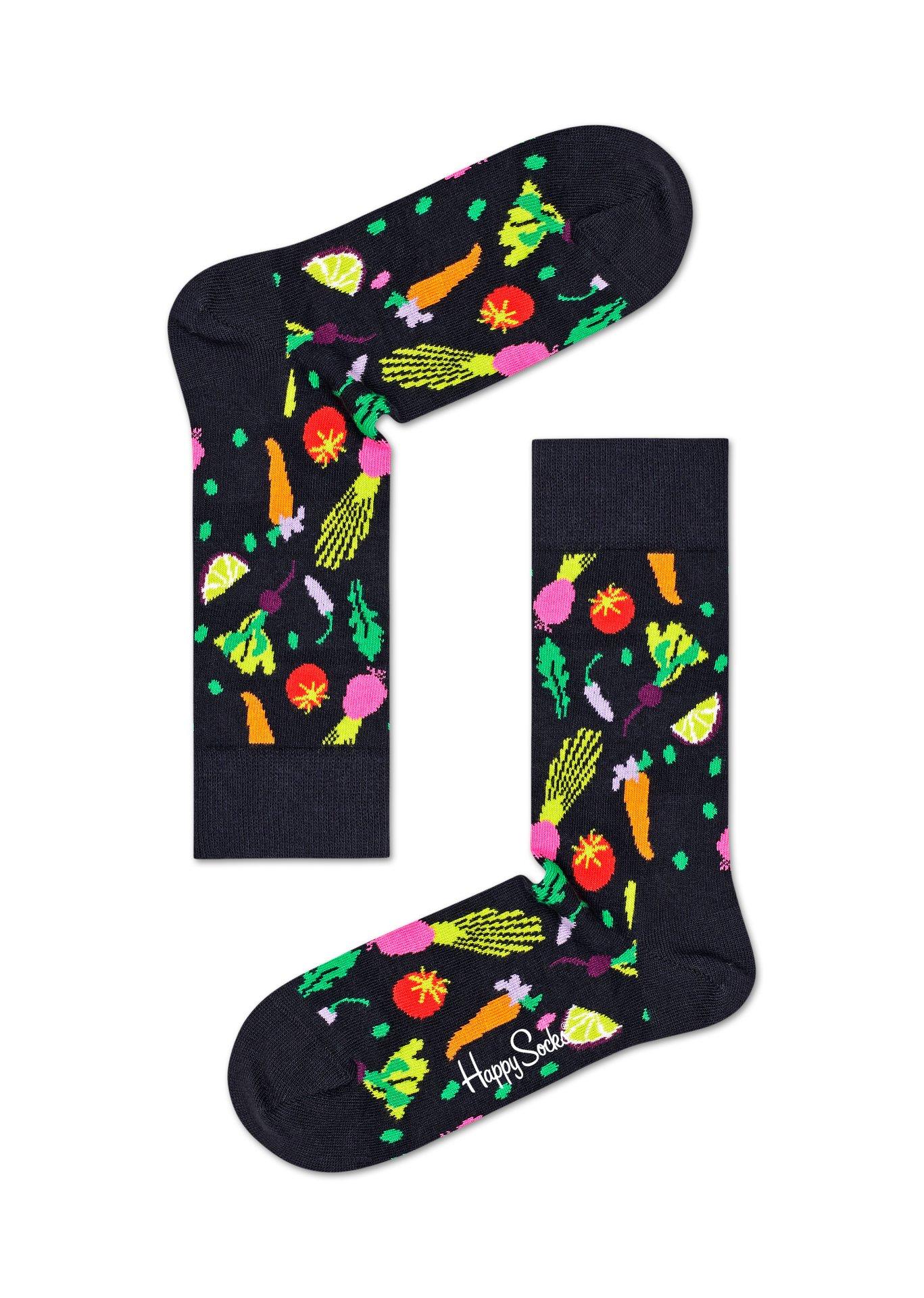 Happy Socks Veggie Socks 1 paar kousen 36-40