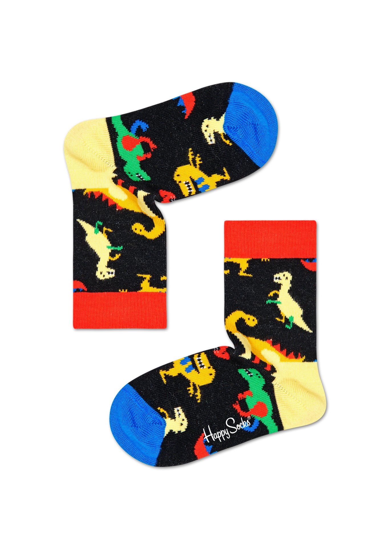 Happy Socks Kids Dinosaur 1 paar kousen