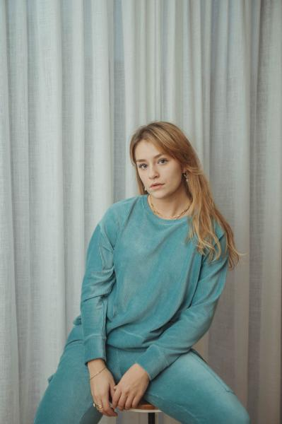 Love Sundaily Sweater + broek in ribfluweel