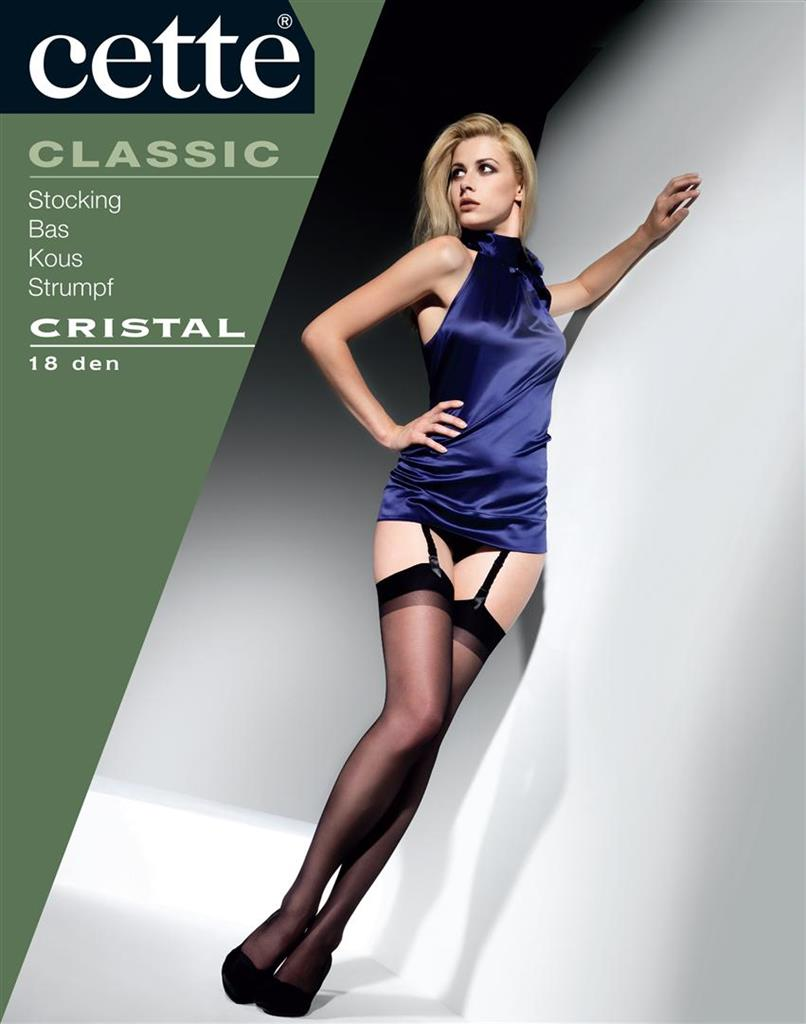Cette Cristal Satin 18den Stay up