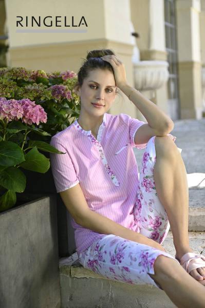 Ringella Stripes Pyjama Dames korte mouw