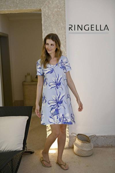 Ringella Floral Slaapkleed met korte mouw 38-54