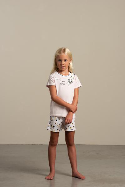 Eskimo Wild Jungle Pyjama meisjes 2 tot 8jaar