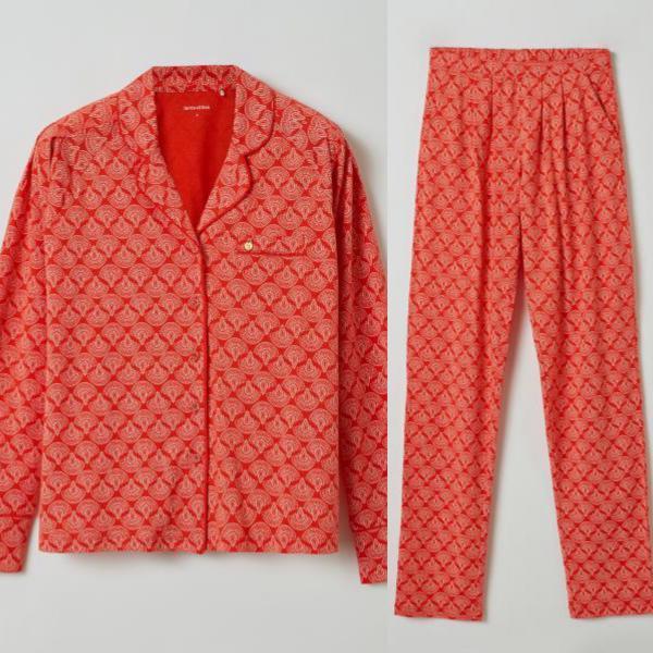 Lords and Lilies Ethnic Pyjama dames doorknoop