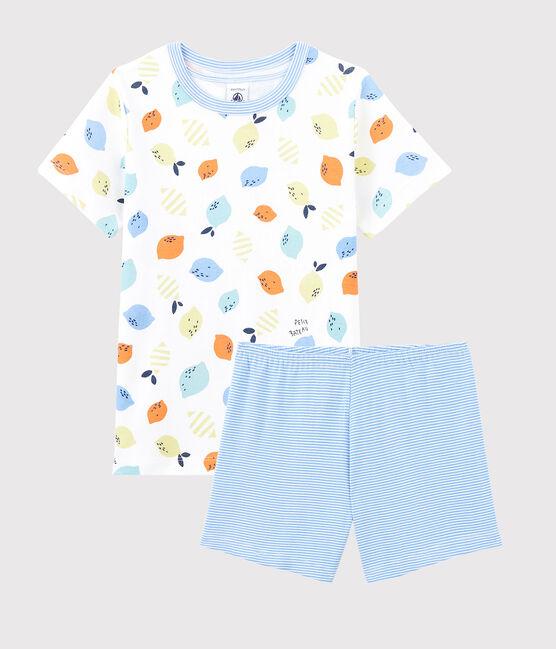 Petit Bateau Citroen Pyjama jongens kort