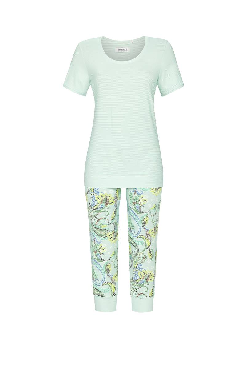 Ringella Stripes Pyjama dames korte mouw 36-48