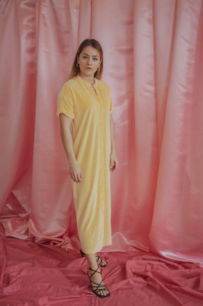 Love Sundaily Valencia Kleed in fluweel