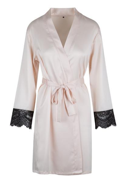 LingaDore Powder Black Kimono