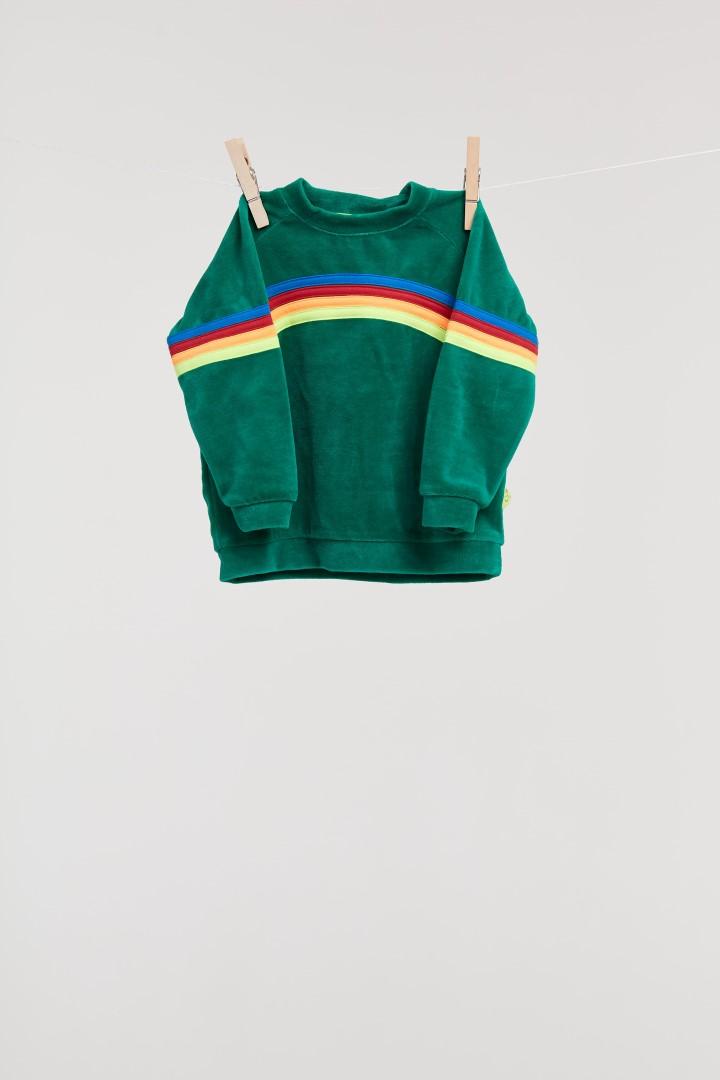 Woody Billie-Ray SET Sweater + broek velours