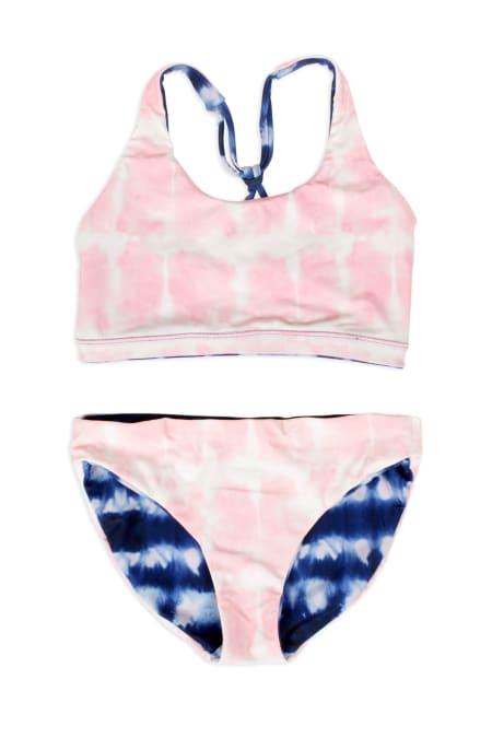 Shade Critters Pink&Navy Reversible Bikiniset