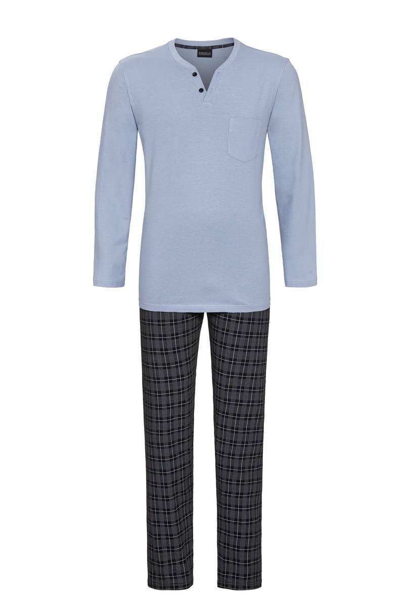 Ringella Blue Grey Pyjama heren