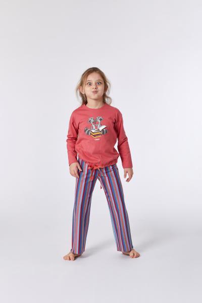 Woody Wasbeer Pyjama Kinderen meisjes