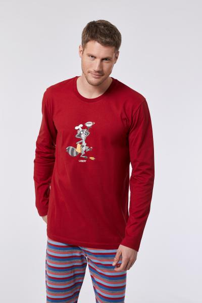 Woody Wasbeer Pyjama Heren M-XL