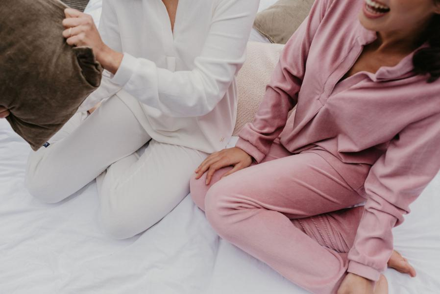 Alice et Maman Colette Vest + broek in velours