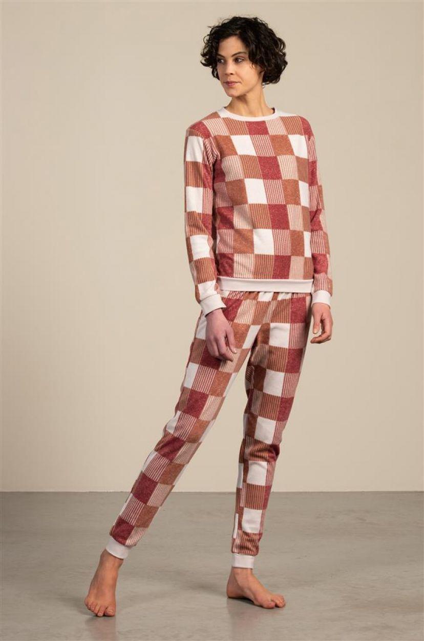 Eskimo Phebe Pyjama dames fleece