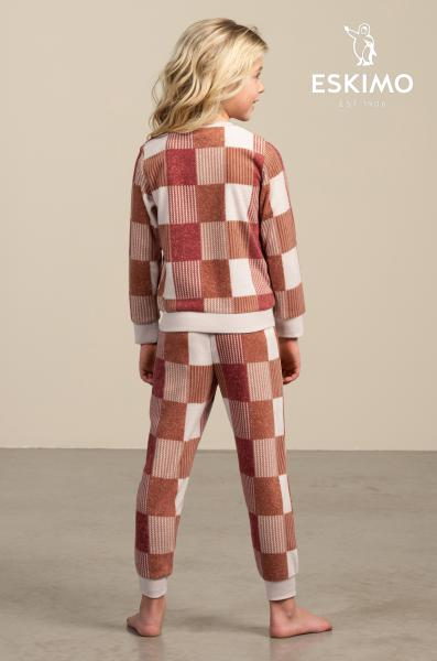 Eskimo Phebe Pyjama meisjes fleece 2 tot 8 jaar
