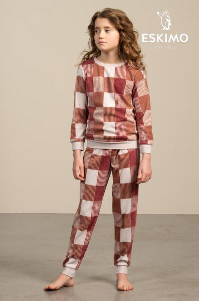 Eskimo Phebe Pyjama meisjes fleece 10 tot 16 jaar