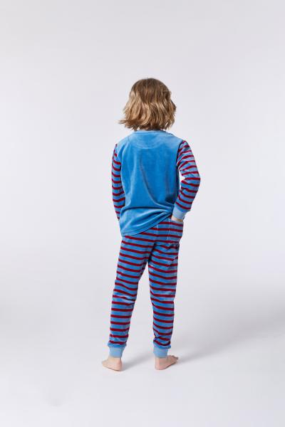 Woody Wasbeer Pyjama jongens Velours